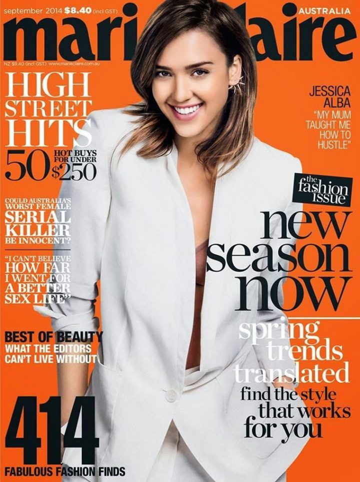 Marie Claire September Issue 2014